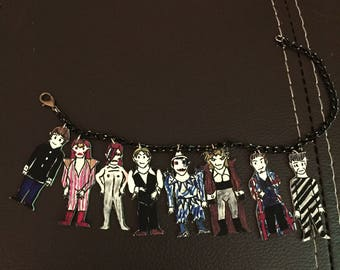 The eight ages of David Bowie bracelet.