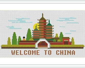 Welkome to Cina Cross Stitch Pattern X041