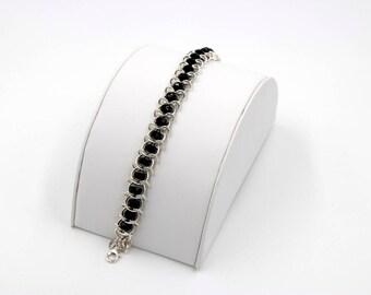 Sterling Silver Centipede Bracelet