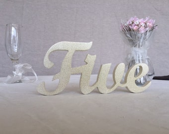 table numbers wedding, wedding reception signs, wedding table decoration wooden letters