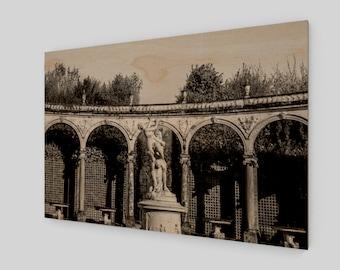 Garden of Versailles Paris France Archival Art Print, 1:50 Limited Edition / wall art / home decor / modern / industrial / sculpture