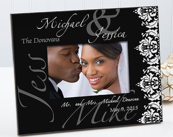 The Wedding Couple Personalized Frame