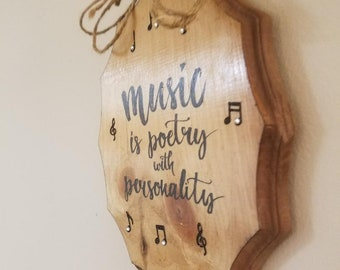 Interior decorative design for music fans
