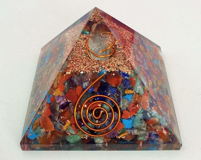 Orgone Pyramid / Chakra Healing Orgone Pyramid Charged w/ Reiki Perfect for Chakra Healing, Meditation, Wicca, Yoga