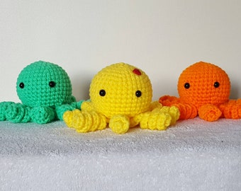Crochet octopus, amigurumi octopus, plush toy octopus, amigurumi crochet, plushie octopus