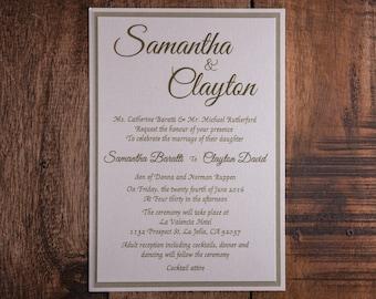 Black Tie Invitations, Black Tie Invitation, Black Tie Wedding Invitations, Black Tie Invitation, Formal invitation, Formal Invitations
