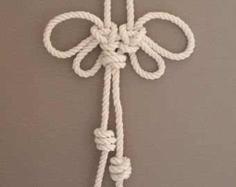 Butterfly rope knot