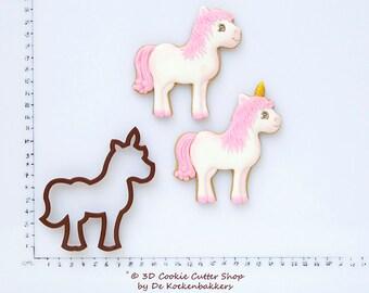 Unicorn / Horse Cookie Cutter (budget cutter)