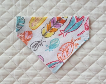 Dog Bandana, Feathers, Pet Supplies, Pet Clothing, Pet Accessories, Pet Neckwear, Dog Accessories, Cat Bandana, Dog Clothing Accessories