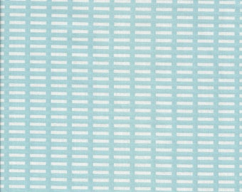 A Walk in the Woods by Aneela Hoey for Moda 18526-11 blue and white -  Priced and sold  in continuous half yard increments cut from the bolt
