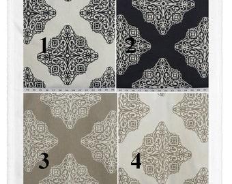 "Window Curtains - Pair of cotton drapery curtain panels 24"" or 50"" W x 63, 84, 90, 96, 108 & 120"" L. Custom Window treatments. Esperanza"