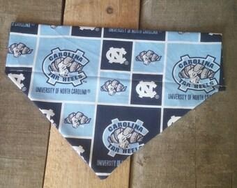 North Carolina Tar Heels dog bandana, Tar Heel dog bandana, North Carolina bandana, Tar Heels dog bandana, Tar Heels bandana, dog gifts