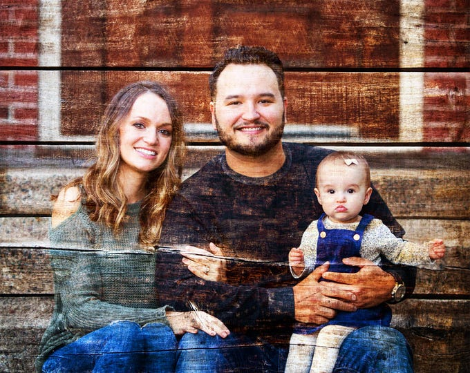 Custom Family Portrait Couple Portrait Gift Wedding Entrance Sign Gift For Couple Photo On Wood Photo Gift Wood Print Wedding Decor 16x20