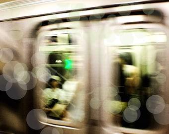 New York Photography, New York Subway Photo New York Wall Art, New York Home Decor, Urban Art, Sepia