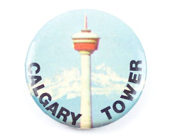 "2.25"" Calgary Tower pin"