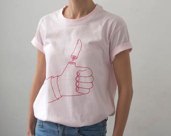 T-shirt I Like new color Pink