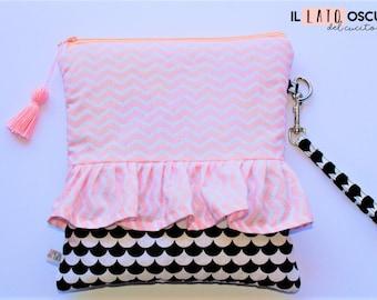 Zippered clutch Bag