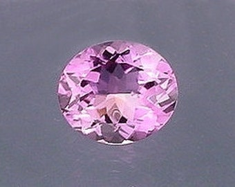 14x12 oval amethyst gem stone gemstone faceted natural