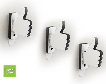wall hooks NO SCREWS needed