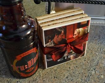 True Blood Coaster Set