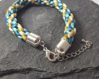 Kumihimo Braided Bracelet.