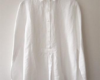 LINNET Pattern / No.98 Shirt Collar blouse