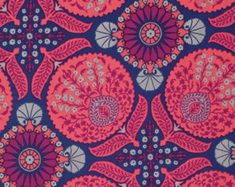 HALF YARD - Joel Dewberry Fabric, Flora, Bazaar in Orchid 100% cotton, quilting fabric