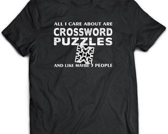 Crossword Puzzle Gift. Crossword puzzle shirt.