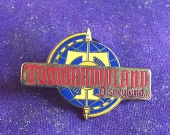 1998 Disneyland Tomorrowland Logo Attraction Series Pin Rare DLR