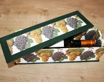 boite à vin en cartonnage, coffret cadeau vin, bouteille de vin, idée cadeau homme, cartonnage, fête des pères cadeau anniversaire,