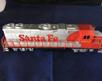Santa Fe #3500 HO TOY engine
