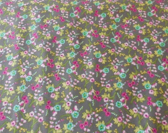 Scattered Posies  Michael Miller Fabric 1 Yard