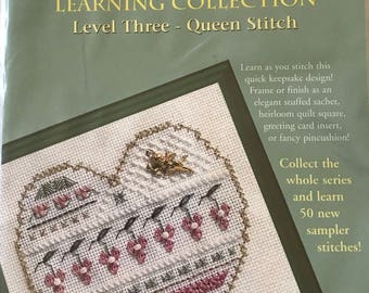 Cross stitch kit/counted cross stitch/learn to cross stitch/Level three/Queen Stitch/learn to stitch/