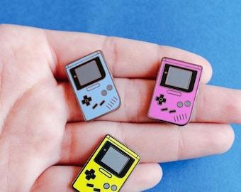 Game Boy Blue Hard Enamel Pin