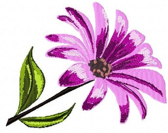 Daisy Machine Embroidery Design...2101
