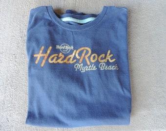 Vintage Tee Shirt Hard Rock Cafe Myrtle Beach  Print Cotton T Shirt size M