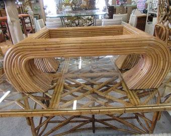 Island Style Ming Bamboo Coffee Table