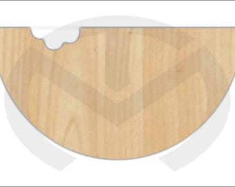 Watermelon  - 01550-  Unfinished Wood Laser Cutout, Door Hanger, Home Decor, Ready to Paint & Personalize, Summer, Welcome, Various Sizes