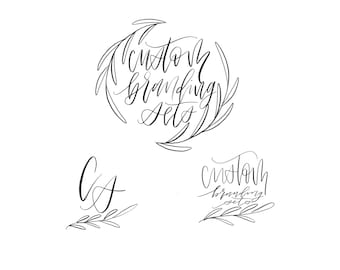 Custom Hand drawn Branding Sets