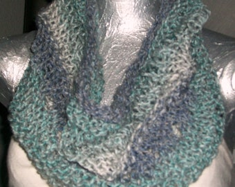 SCARF WOMEN KNITTED Cowl  Free Ankle Warmers  Women  Scarf  Knitted  Handmade  Gift  Xmas  Teens