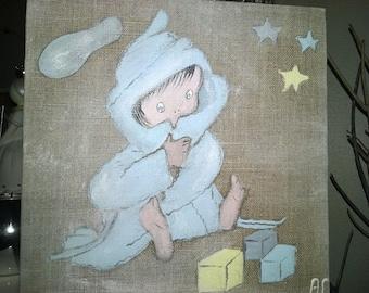 Panel painting for children