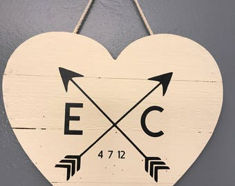 Personalized Crossed Arrows