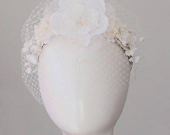 Bridal Headband Wedding Hair Accessories Flower Headband Hair Jewelry Grecian Headpiece