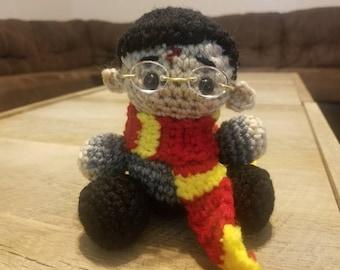 "Harry Potter Plush Crochet Amigurumi Doll 5"""