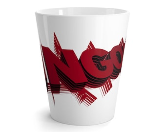 Ungodly 1 In Red Latte Mug