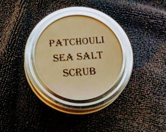 Patchouli sea salt scrub
