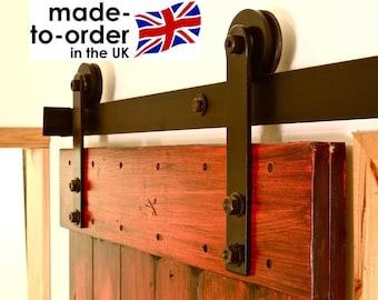 Hardware de puerta de granero correderas rústico para puerta de madera DIY kit