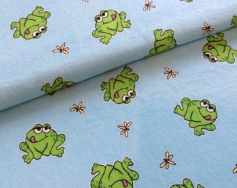 Frog flannel