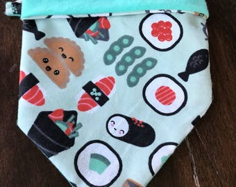 Sushi Lover Dog Bandana