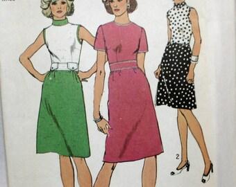 Simplicity 6209 Misses Vintage Dress Sewing Pattern New / Uncut Size 14